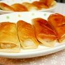 お餅&納豆&ねぎの春巻き。