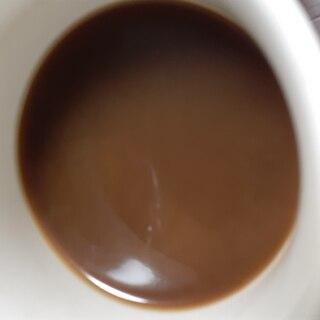 板チョコ入りコーヒー