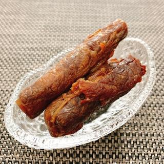【おせち】牛肉ごぼうまき