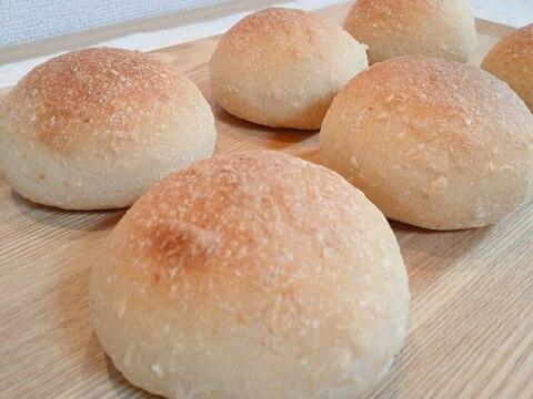 美味しくユル糖質制限☆オートミール丸パン