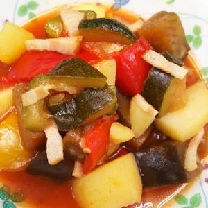 夏野菜たっぷり煮込み