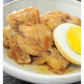 麦みそで美味しい鶏肉のマーマレード味噌煮