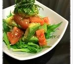 アボカドとトマトの和風マリネ