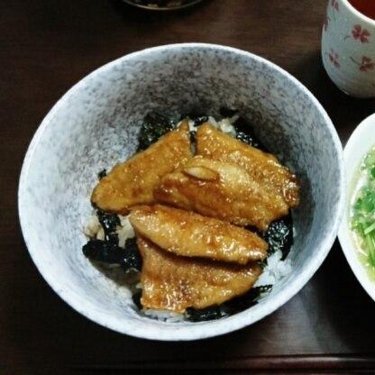 タレ2倍で作ったらご飯にかけれる量出来ました。お米はミルキークイーンで。美味しかったです!
