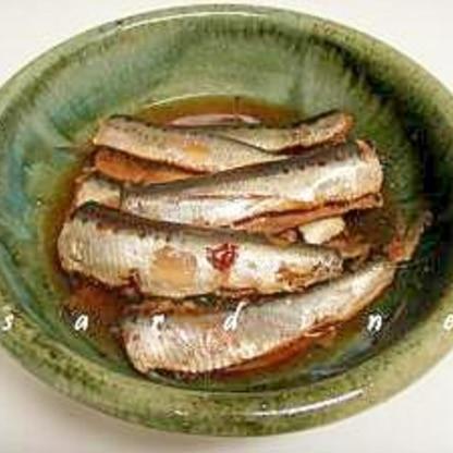 骨まで食べられてカルシウム不足解消 鰯のやわらか煮