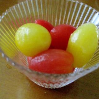 暑い夏にピッタリ!甘酸っぱいミニトマトのピクルス♪