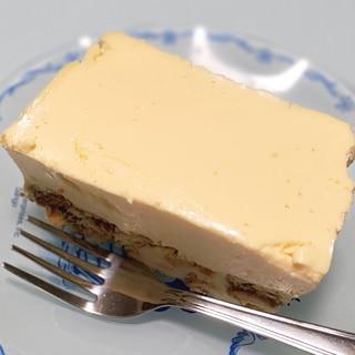 [簡単]濃厚レアチーズケーキ