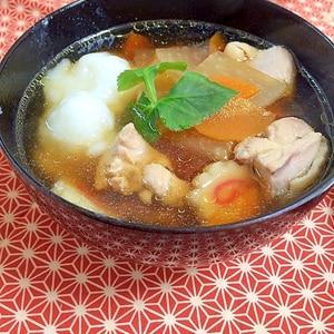 お出汁が美味しいお雑煮♪簡単!!