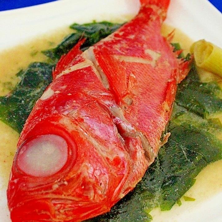 金目鯛の海香煮