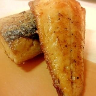 塩サバのムニエル~バターしょうゆ焼き~