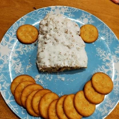 写真を撮る前に切られてました(笑)美味しくて楽しいレシピをありがとうございました(o^^o)