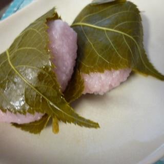 レンジde翌日も固くならない桜餅