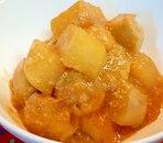 里芋と大根の甘味噌煮