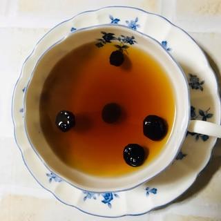 レモン&ブルーベリーの紅茶