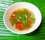 トマトとわかめのスープ