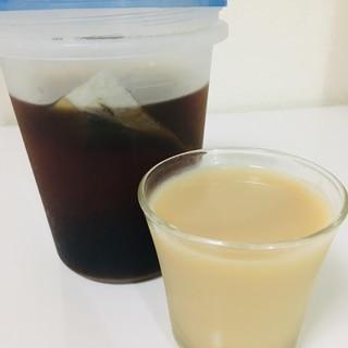 麦茶豆乳オレ