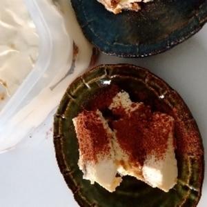 簡単♪絶品♪クリームチーズとカステラでティラミス