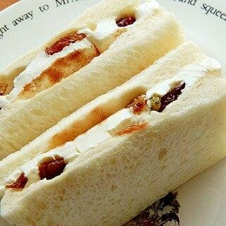 裏技で5分!?チーズケーキみたいなサンドイッチ♪