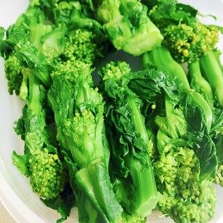 お正月☆簡単おせち料理☆緑鮮やか菜の花の昆布茹で