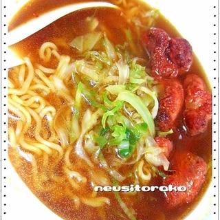 赤辛チキン・台湾ラーメンコラボ