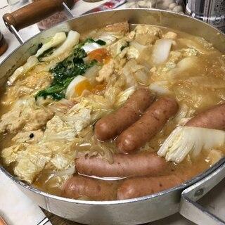 野菜たっぷり!味噌鍋
