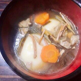スルメと昆布のお雑煮