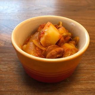 ホットクック☆ソーセージとたっぷり野菜のトマト煮