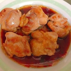 お弁当に!サッと簡単!鶏肉の甘辛焼き♪