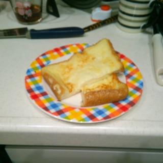 卵なしフレンチトースト(離乳食完了期)