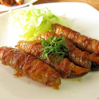 ご飯が進む☆茄子の豚バラ巻き