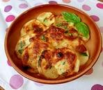 ポテトのバジルチーズ焼き