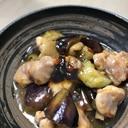 鶏もも肉と茄子のスイチリ炒め