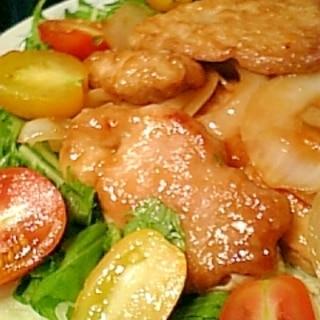 簡単美味!豚もも肉のオイスターソース焼き♪