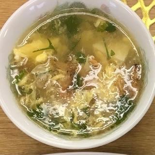 本格的な酸辣湯