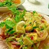お手軽!タイ風春雨サラダ