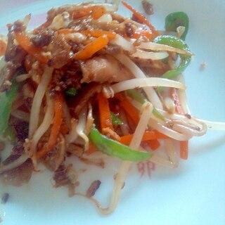 ご飯がすすむ☆ひき肉と野菜のオイスターソース炒め