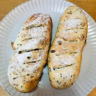 冷蔵庫で低温発酵!ドイツパン風