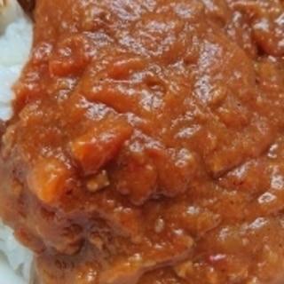 プチトマト大量消費トマトカレー