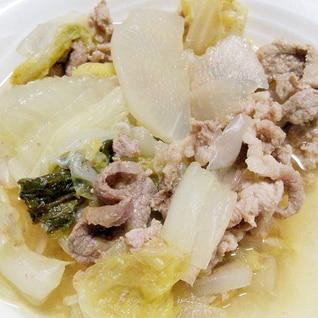 白菜と大根のあっさり煮