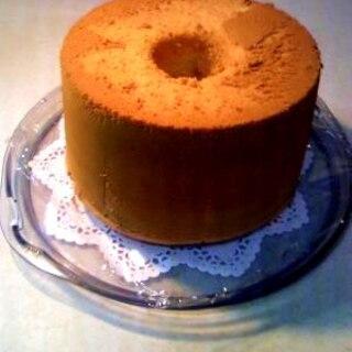 けっこう簡単!ふわっふわのシフォンケーキ