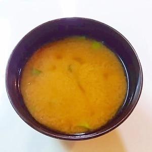 レンジでキャベツの味噌汁