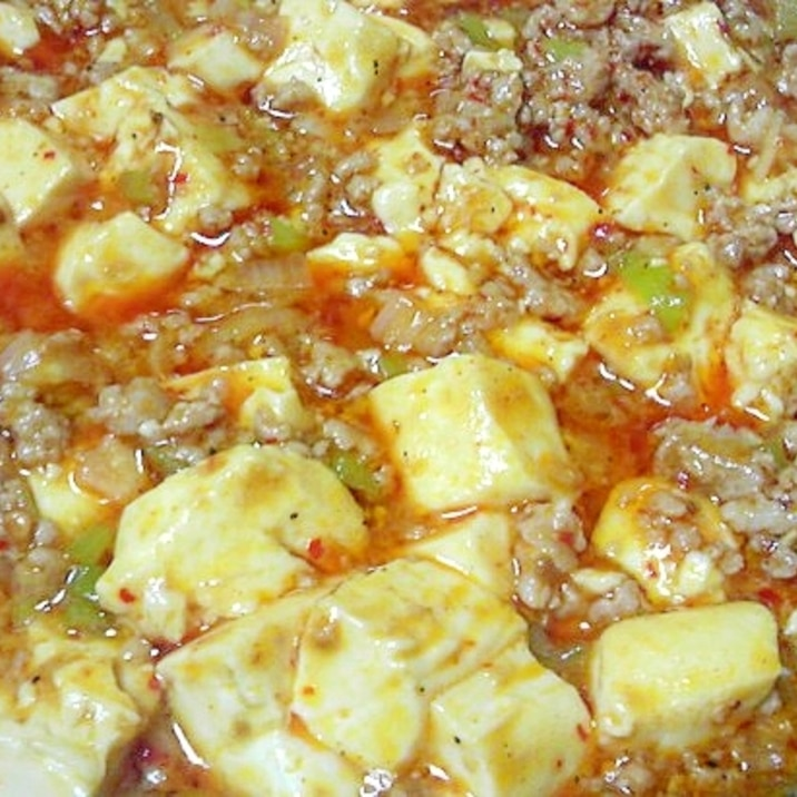花椒を効かせた本格っぽい麻婆豆腐