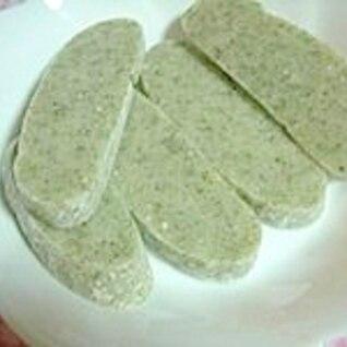 ホームベーカリー☆青のり餅