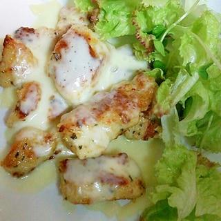 鶏モモ肉のチーズソテー