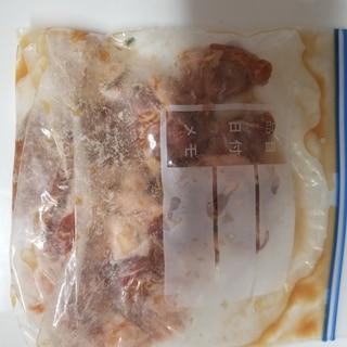 豚ロース肉の味付け冷凍保存方法