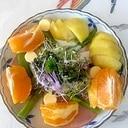 リーフレタス キャンディーチーズのサラダ