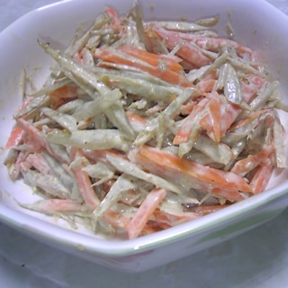根菜たっぷり♡定番・ごぼうサラダ♡