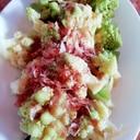 ロマネスコの和風サラダ