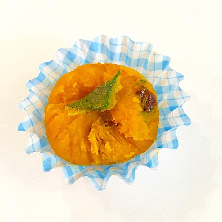 お弁当隙間埋め☆かぼちゃメープル茶巾