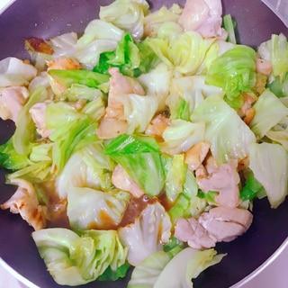 ダイエットに!鶏肉とキャベツの柚子胡椒ポン酢蒸し